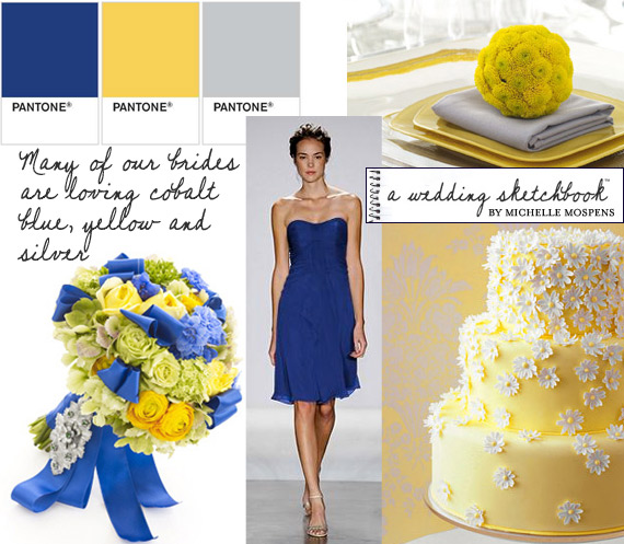 Blue and Silver Wedding Colors
