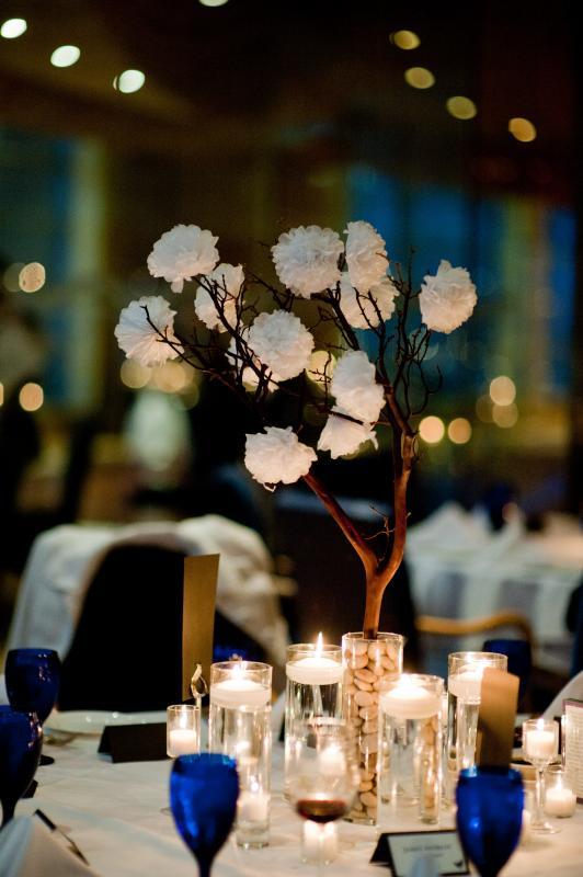 Tissue Paper Carnations wedding tissue paper carnations centerpiece white