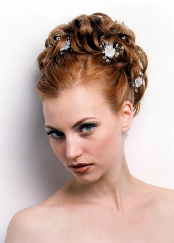 updos hair styles for brides