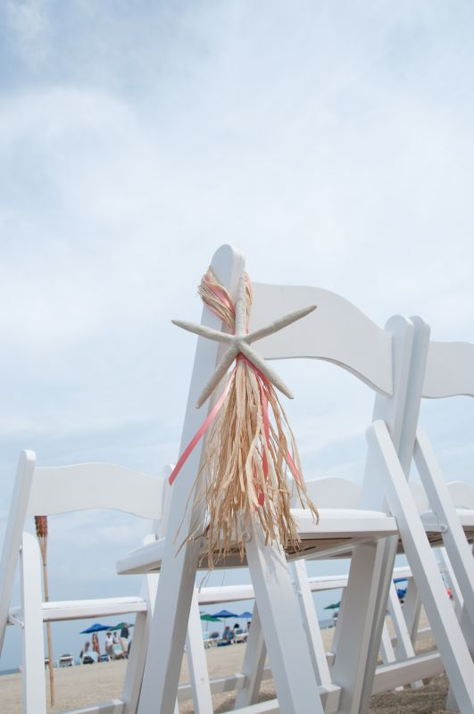 Beach decor starfish isle decorations wedding starfish isle chair decor