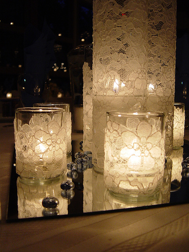 Candle Centerpieces for Reception Show me wedding