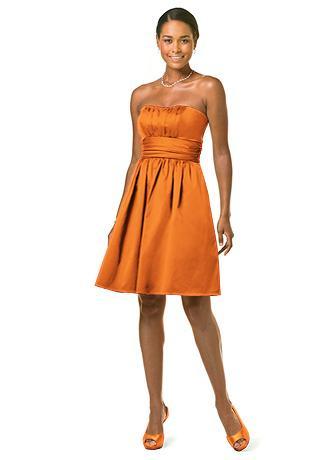 Need DB 83312 Tangerine Size 12 wedding davids bridal dress tangerine