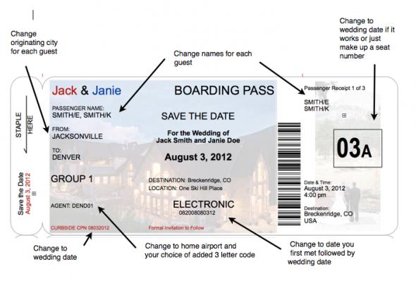 Boarding pass invitation template stopboris Images