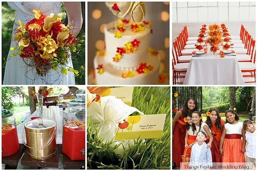 Colors for a Red Barn wedding wedding colors barn country red table