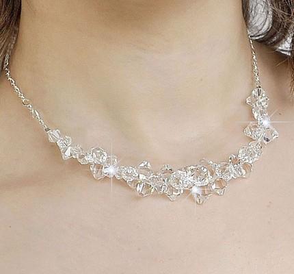Necklace to go with strapless dress weddingbee for Bracelet for wedding dress