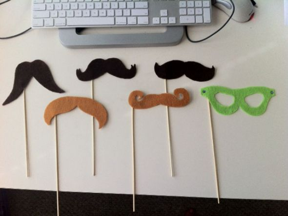 Felt Photo Booth Props by