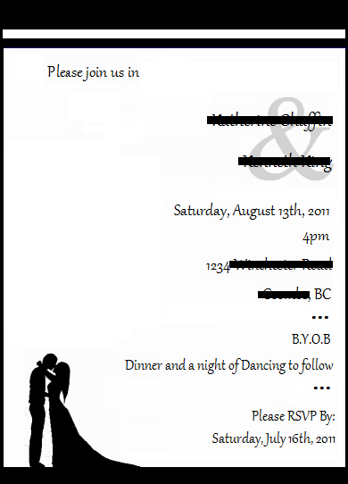Invitation Clipart help wedding Invite Idea 1 Edit