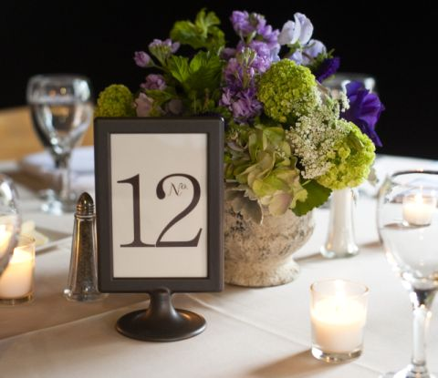 Wedding Table Number Frames 50 wedding table numbers table number