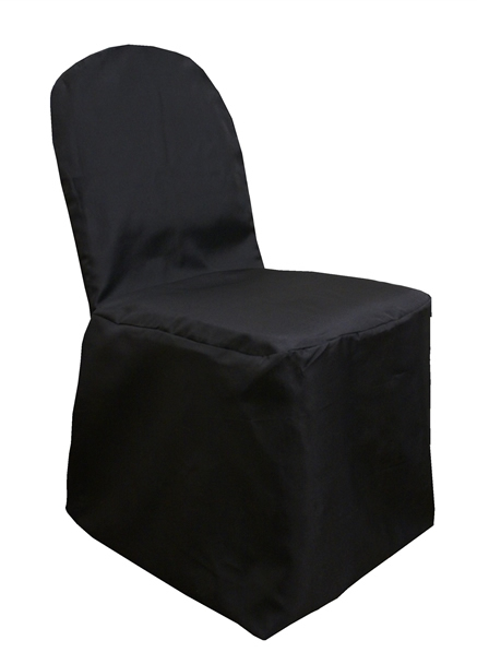 White Black Ivory and Chocolate Banquet Chair Covers for Sale