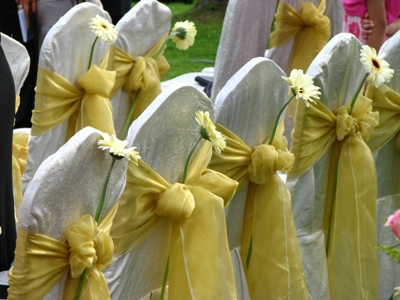 Wedding Reception Chair Rentals on Chair Sashes  Overlays  And Table Runners For Sale   Wedding Black