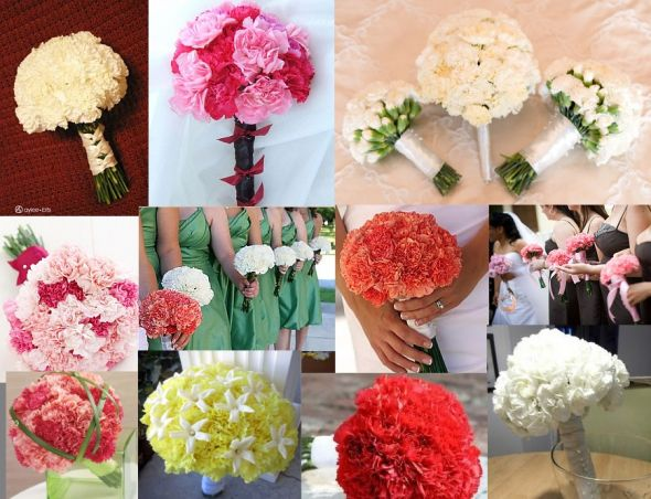 I need some carnation centerpiece inspiration wedding 123