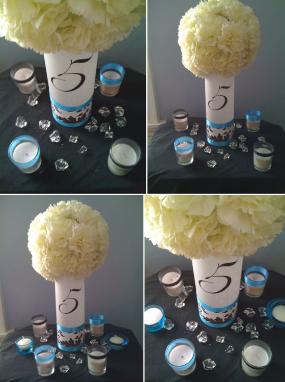 wedding reception ceremony bouquets banner for the head table i thinkt