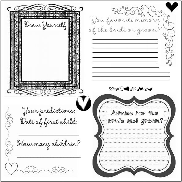 guestbook wedding guest book diy Guest2