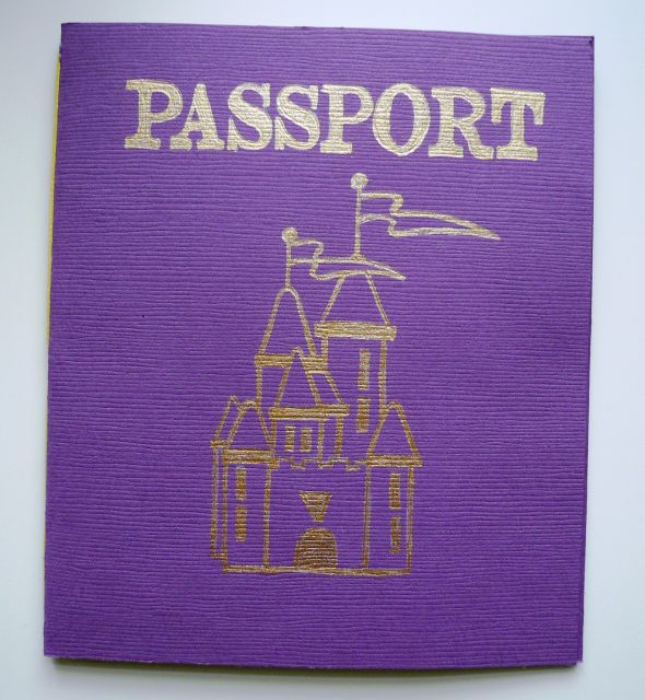 PreWedding Information Passport wedding diy information book passport