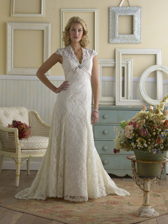 Dresses for the mature bride? : wedding dress 40 something mature ...