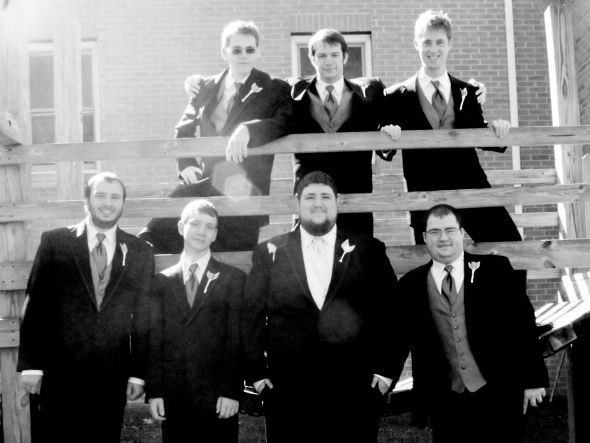 WEDDING PARTY Groomsmen Boys in brown posted by BlueRidgeMere 4 months