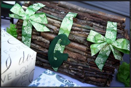Rustic Card Box wedding rustic card box green ceremony Rustic Card Box SM