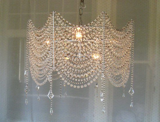 CHANDELIER CAKE stand  chandelier decorations by meganhuggins83