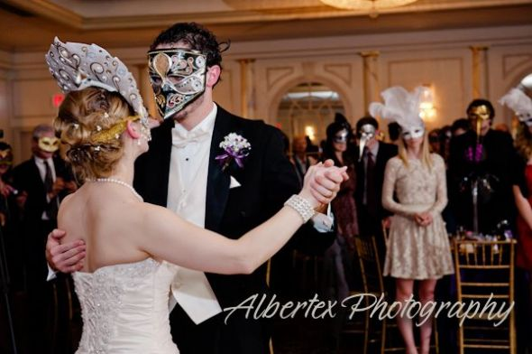 Masquerade Ball Wedding Mask