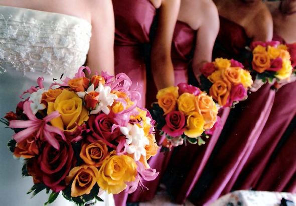 Color Schemes for Fall Weddings And Don 39t Say Orange LOL 9 months ago