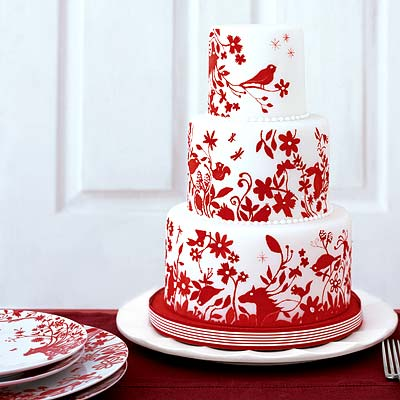 NEED HELP Bakery Appt today and wedding Redcake red and black wedding cakes