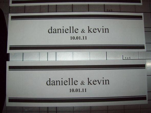 printable wedding water labels