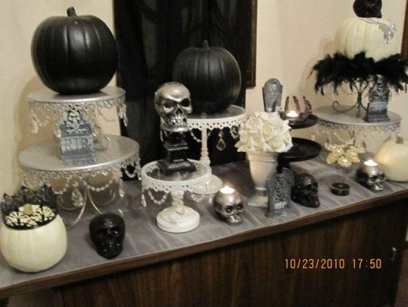 Fancy Pumpkins wedding black
