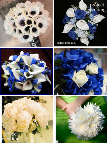 black and white Flower color question wedding flowers Flower Board