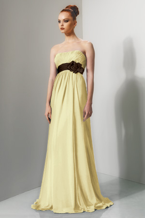Yellow And Brown Bridesmaid Dresses 102