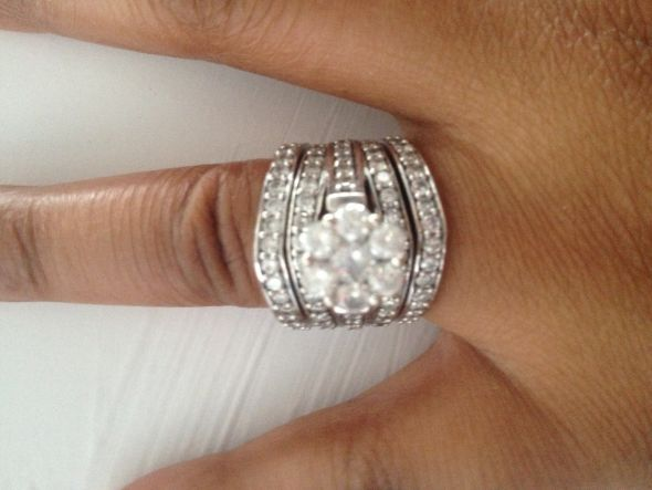 Infty Rings Engagement Wedding Ring Set Miadonna Custom Antique Diamond Blog -  Three Piece Wedding Set Dark Knight Bling Weddingbee Photo Novu Ring By Miadonna