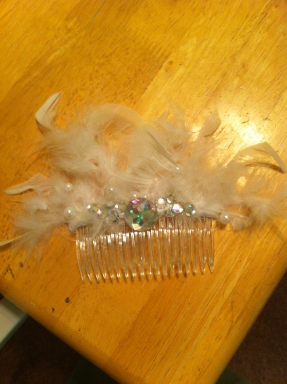 Feathery Head Piece