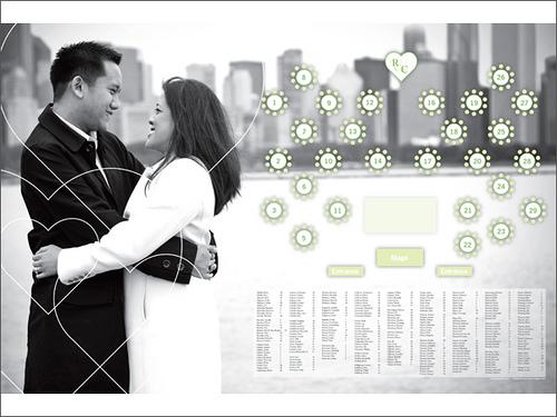 lolli u0026 39 s blog  decorating ideas for wedding reception tables 1 580x435 decorating ideas for