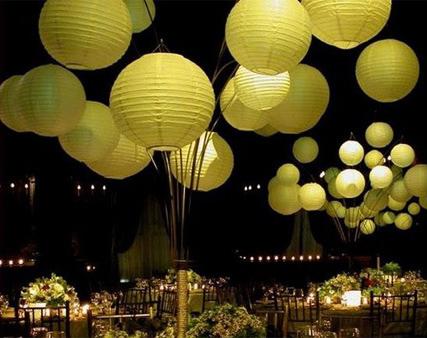 Chinese Lanterns wedding