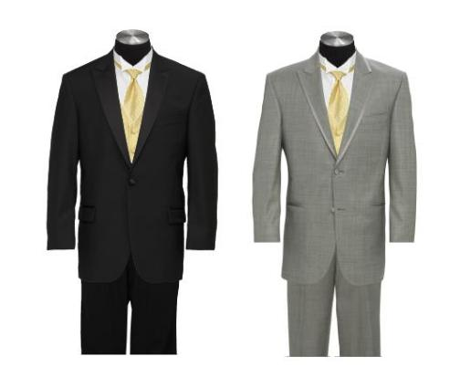 Tux color Which one wedding tuxes Gray And Black Tux Together
