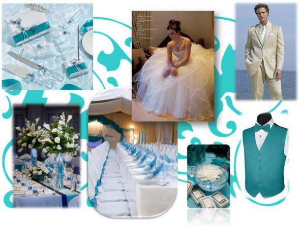 Tiffany bride to be Inperation wedding teal blue