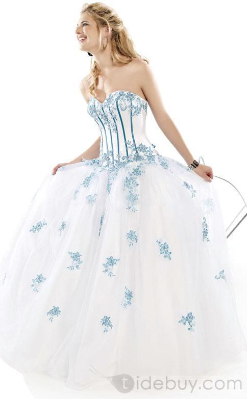 Welcome new post has been published on for Wedding dresses with tiffany blue