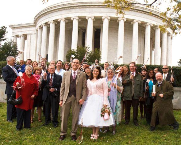 April 9th Wedding -dc Cherry Blossoms