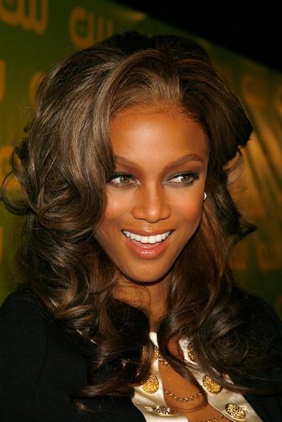 tyra banks 2011 hairstyle. veil hair style Tyra Banks