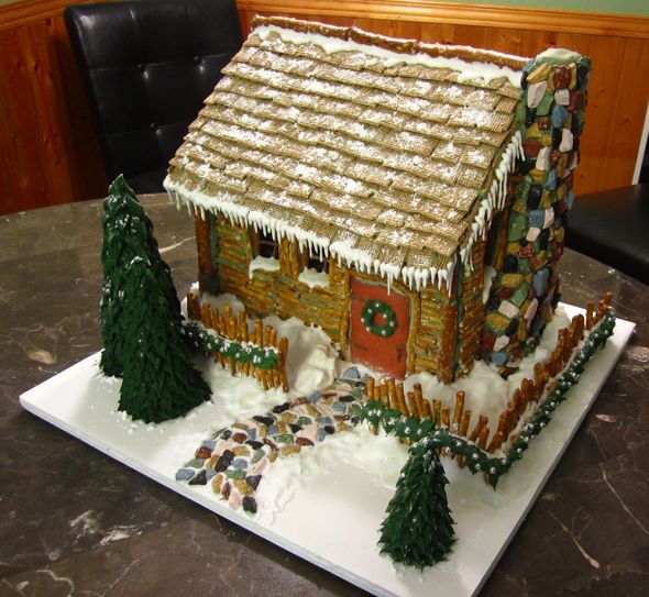 My epic gingerbread house image heavy and here are some photos of the finished house maxwellsz