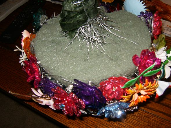 My Homemade Brooch Bouquet PIC HEAVY wedding brooch bouquet flowers diy