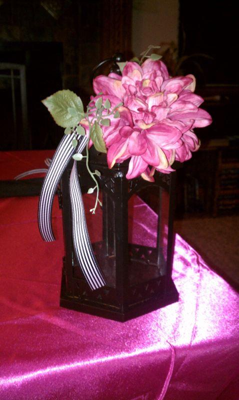Black Pink and White Wedding Decor wedding circus carnival wedding