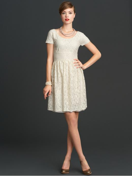 Mad Men Collection for Banana Republic: Inexpensive wedding dress?