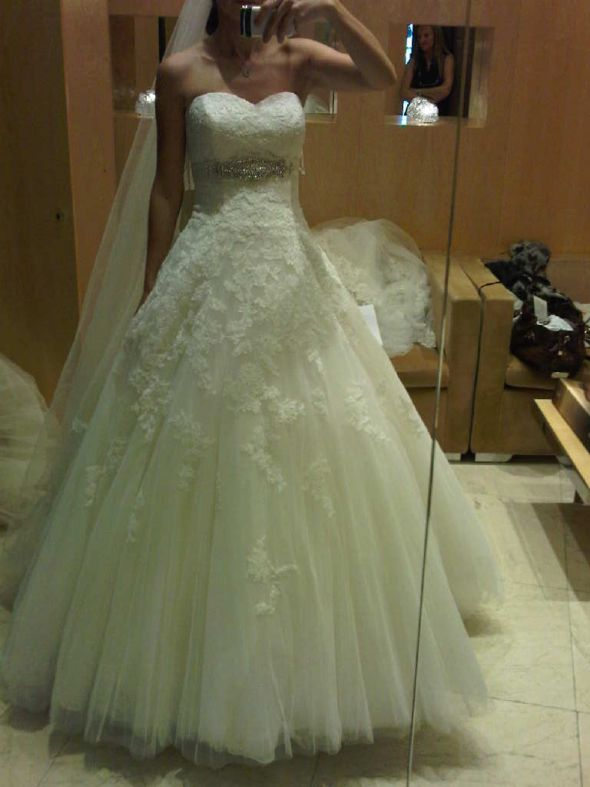 This is mine Show your Ball Gown Wedding Dress Post yours here