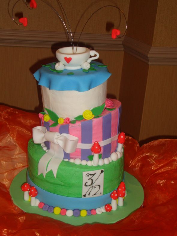 Mad Hatter Tea Party Bridal Shower Sucess! Picture Heavy!