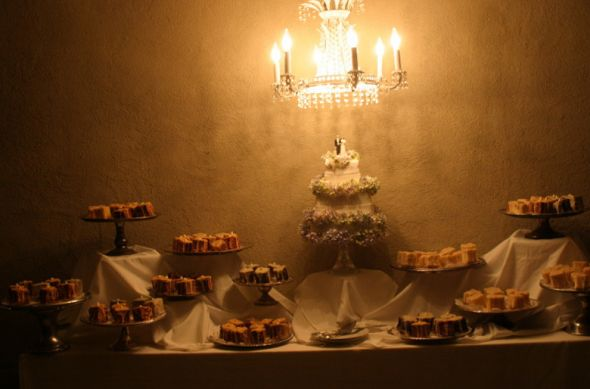 How did you decorate your cake table wedding cake table Cake Table