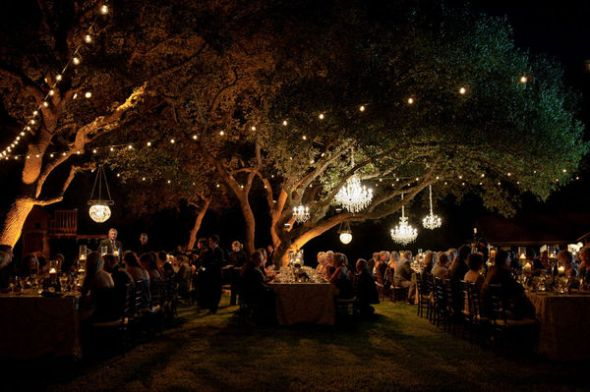 Lighting For Backyard Party : Outdoor ambience w string lights & lanterns?