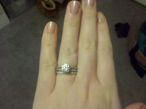 Share your engagement ring and wedding band sets wedding wedding ring set