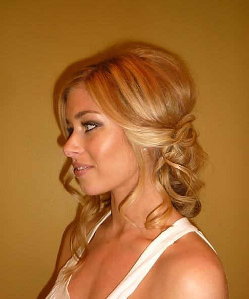 Peachy Wedding Hairstyles Down To The Side Kcbler Com Short Hairstyles For Black Women Fulllsitofus