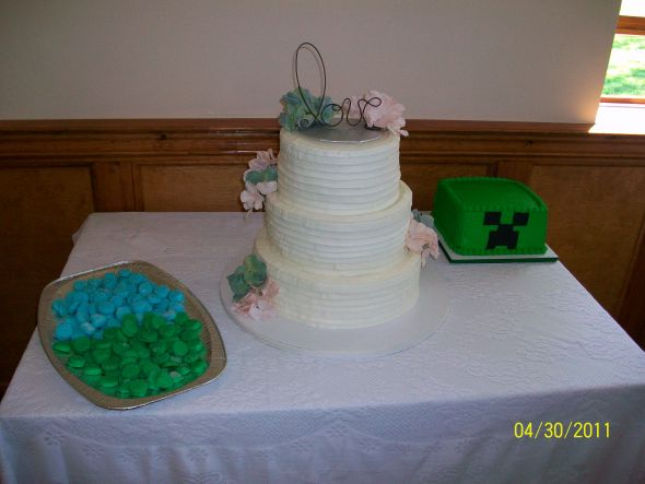 Pictures of your non-fondant cake? - Weddingbee Page 2