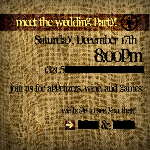 Anyone having a wedding party meet and greet m4hsunfo
